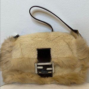 VINTAGE Fendi Fur Handbag